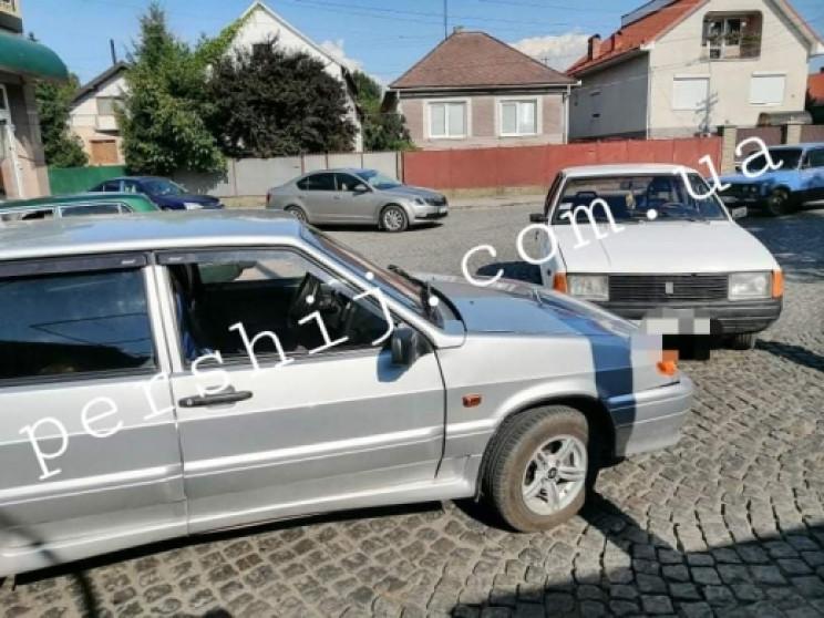 У Мукачеві на перехресті сталася аварія…