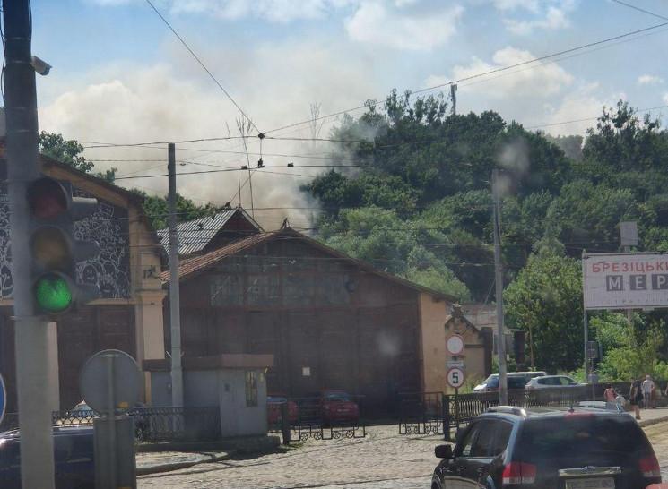 У центрі Львова виникла пожежа (ФОТО)…