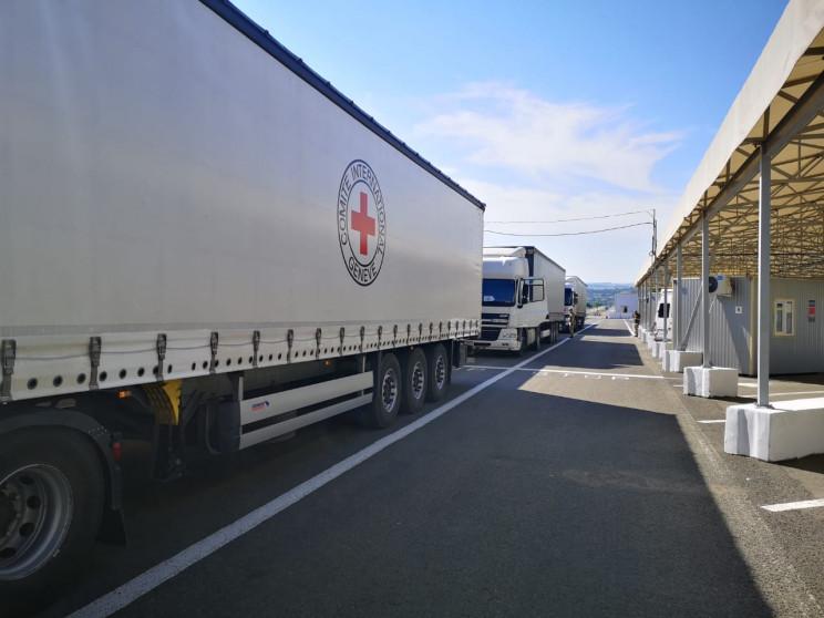 Червоний Хрест відправив до Донецька буд…