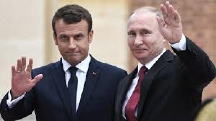 Путін і Макрон у телефонній розмові обго…