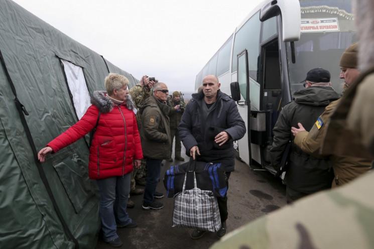 Украина передала ОБСЕ список лиц для обм…