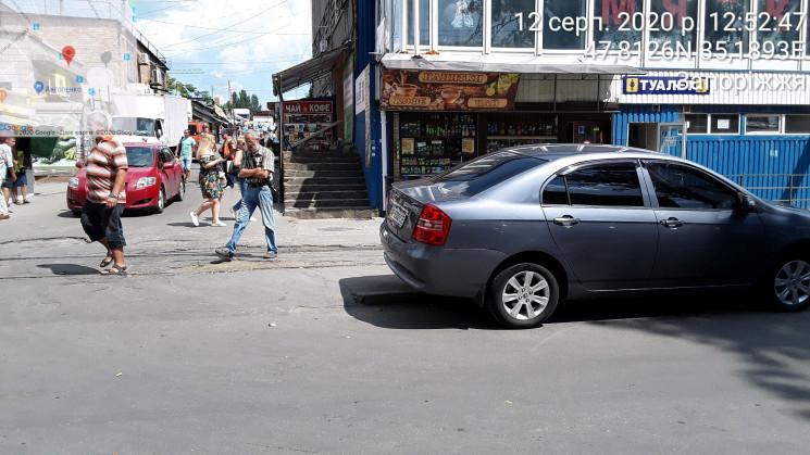 У Запоріжжі інспектори з паркування оштр…