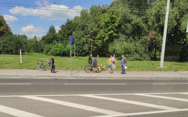У Львові збили велосипедиста (ФОТО)…