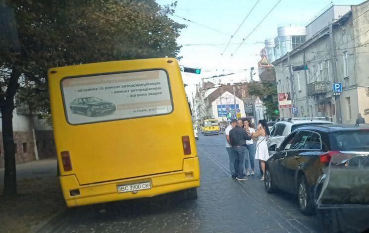 У Львові біля вокзалу сталася ДТП (ФОТО)…