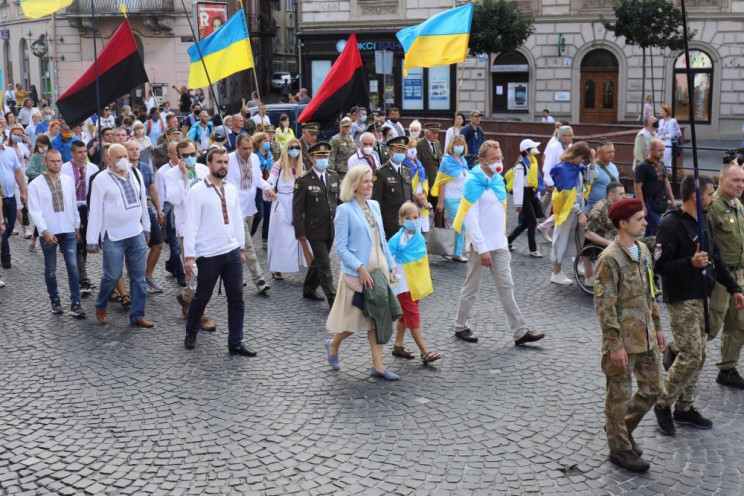 У Львові відбувся Марш Нескорених (ФОТОР…