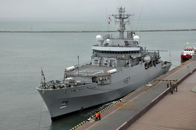 В Одеський порт зайшов британський кораб…