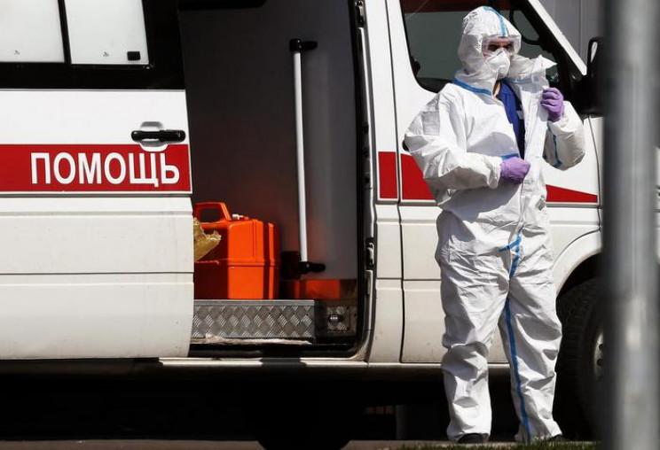 Кількість заражених коронавірусом росіян…