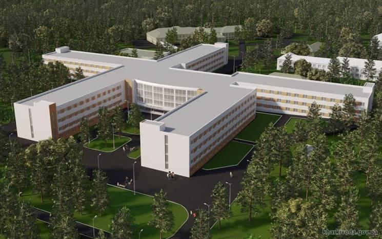 Будівництво нового онкоцентру в Харкові…