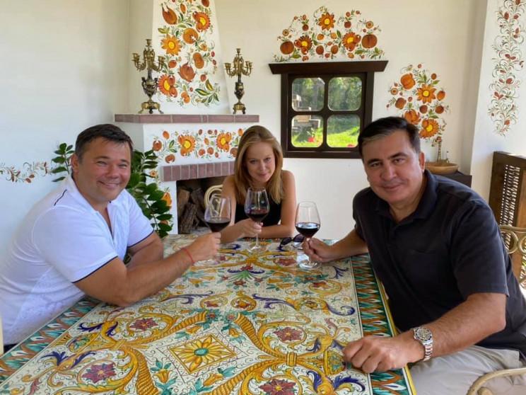 Саакашвілі з Богданом і Ясько проти Єрма…