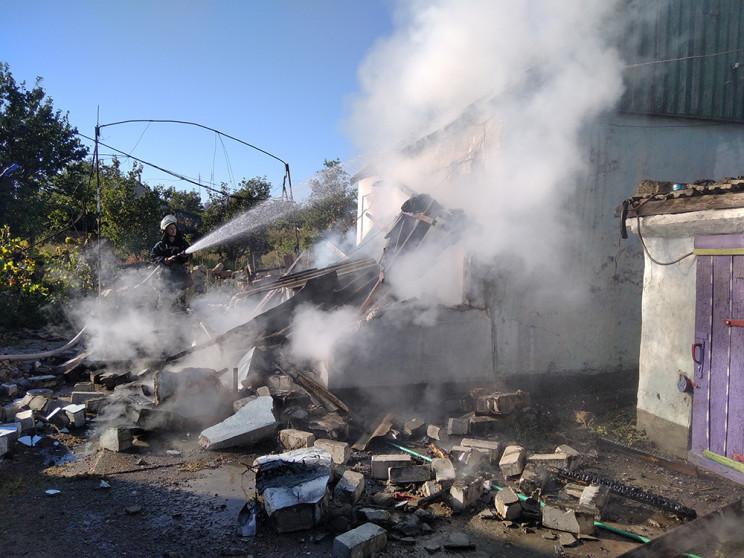 На Миколаївщині вибух газу розтрощив буд…