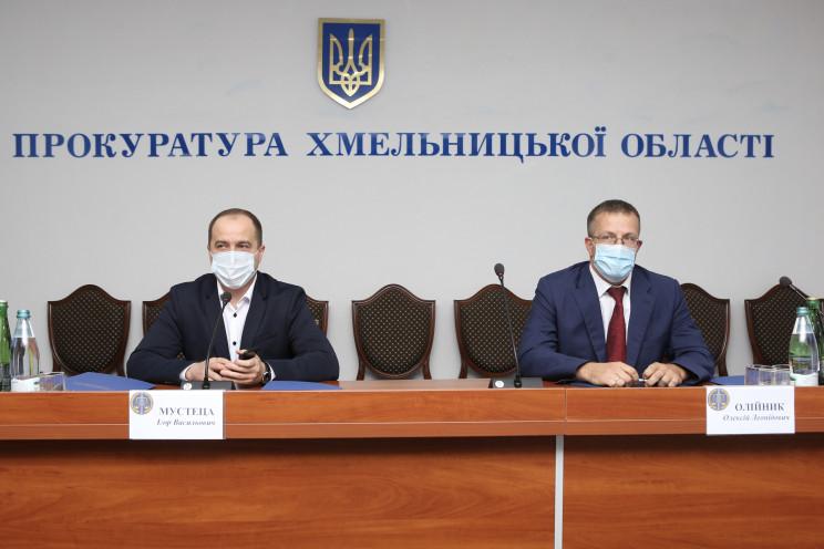 Нового прокурора Хмельниччини приїхав пр…