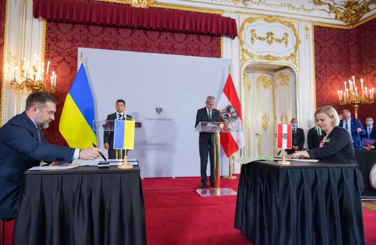 У Відні підписали низку українсько-австр…