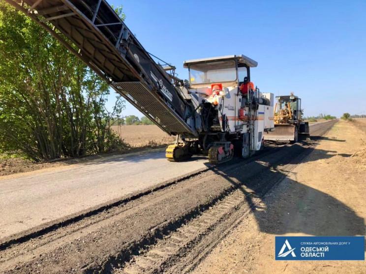 В Одеській області почали ремонт дороги…