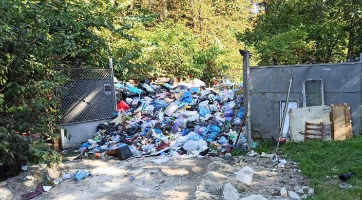 У центрі Львова знайшли велику купу сміт…