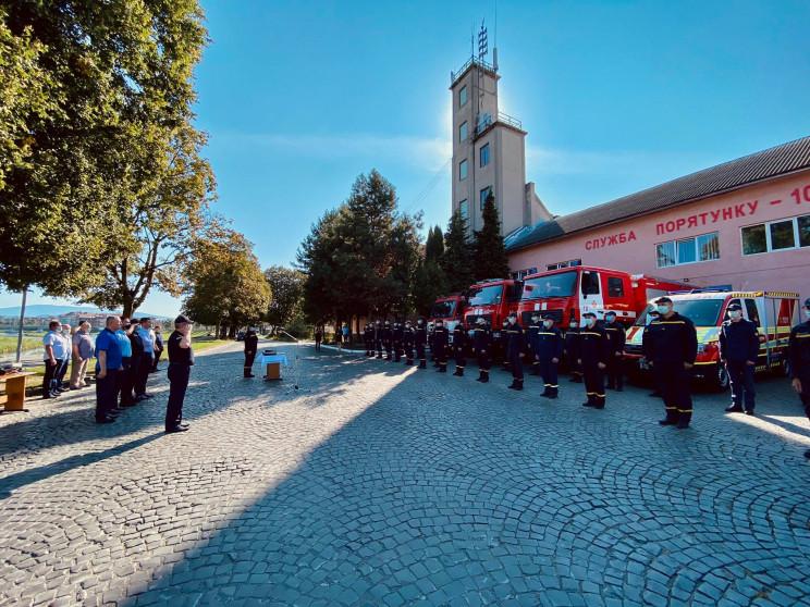 У Мукачеві святкували День рятівника…