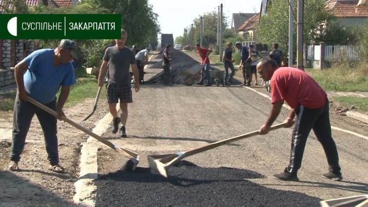 На Ужгородщині жителі села власним кошто…