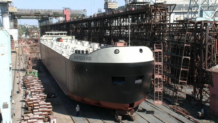 На херсонській верфі виготовили танкер-х…