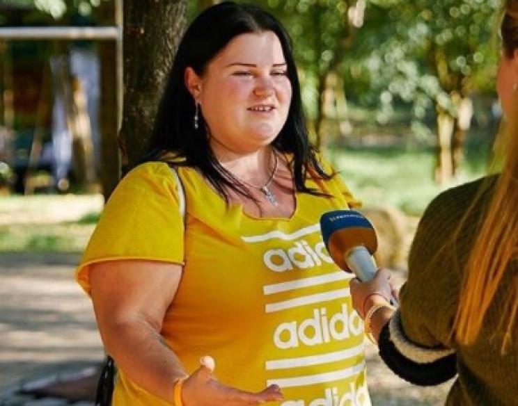 Украинский репер показала тело в открове…