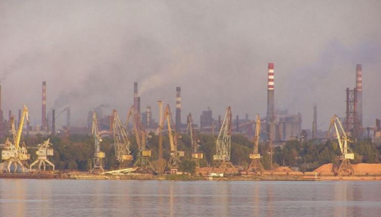 Концентрация угарного газа в запорожском…