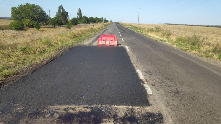 У Запорізькій області шляховики почали р…