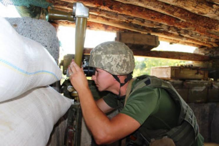 Бойовики обстріляли позиції українських…