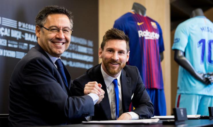 """Президент """"Барселони"""" розповів, що обгов…"""