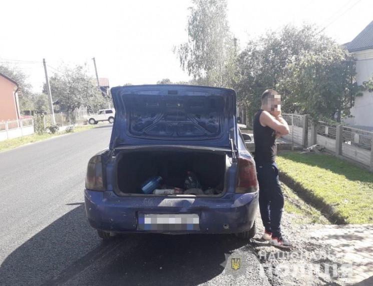 Поліція Закарпаття затримала водія, який…