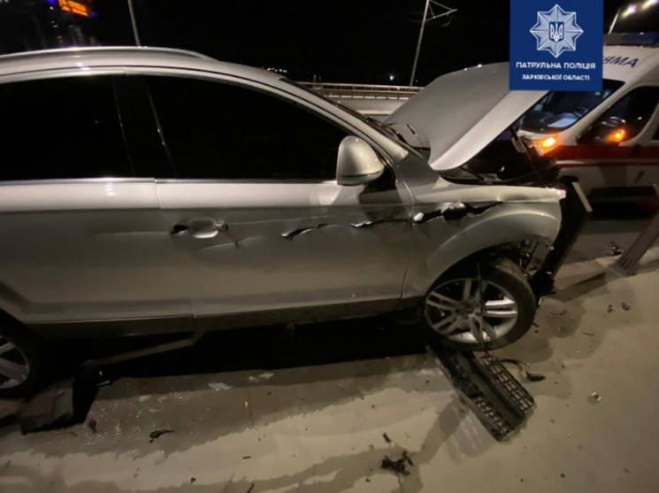 У Харкові п'яний водій спровокував аварі…