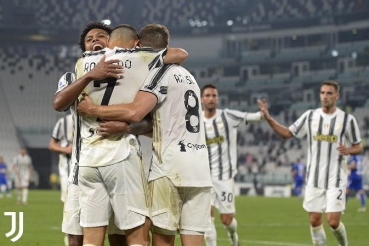 Криштиану Роналду голом в матче Серии А…