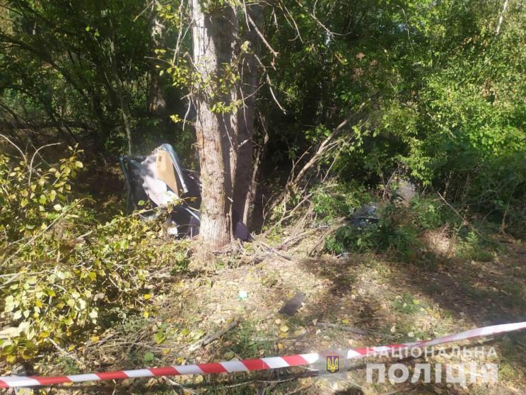 На Харківщині в ДТП на смерть розбилися…