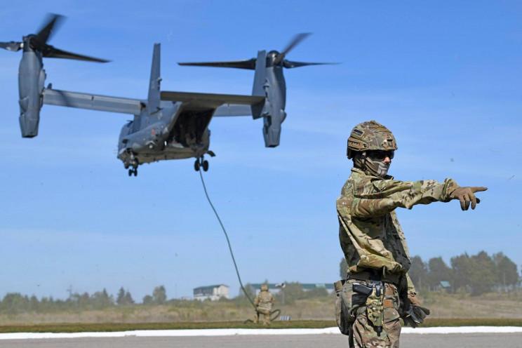 Спецназовцы США проведут учения в небе н…