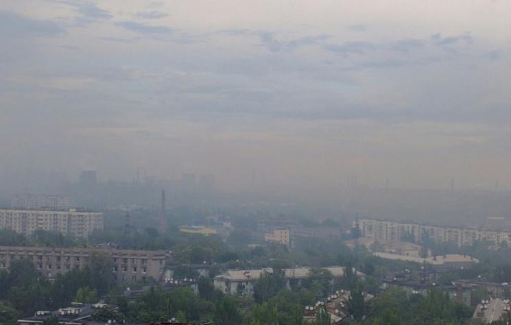 Концентрация пыли в запорожском воздухе…