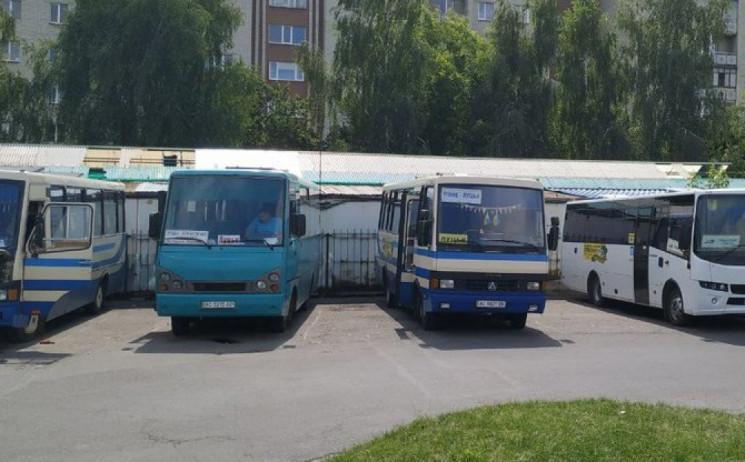 Зміни в роботі громадського транспорту О…