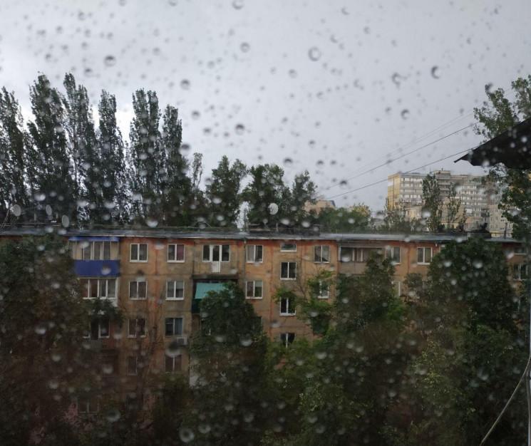 На Днепр идет шторм