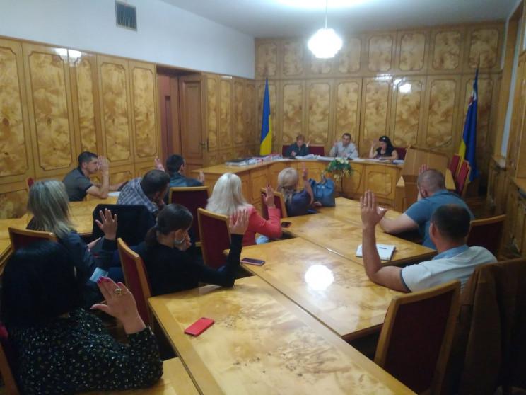 Офіційно: До Закарпатської обласної ради…