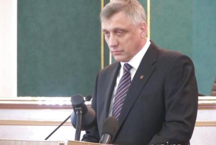 Председатель Хмельницкого облсовета поме…
