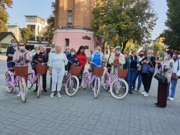 Німці подарували велосипеди відвідувачам…