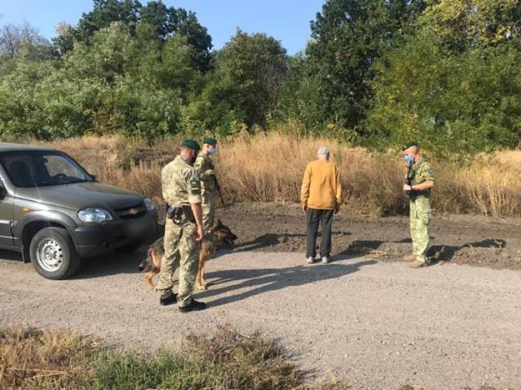 Харківські прикордонники затримали росія…