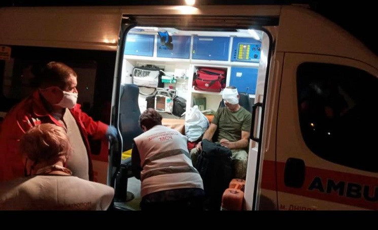 В Днепр прибыли несколько бортов с ранен…