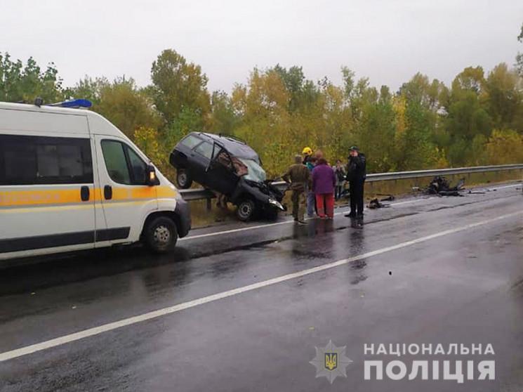 Лобове зіткнення: На Чернігівщині сталас…
