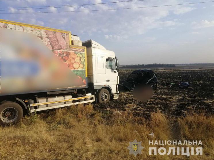 На Харківщині сталося зіткнення вантажів…