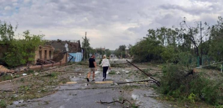 В Херсонской области пронесся ураган: По…