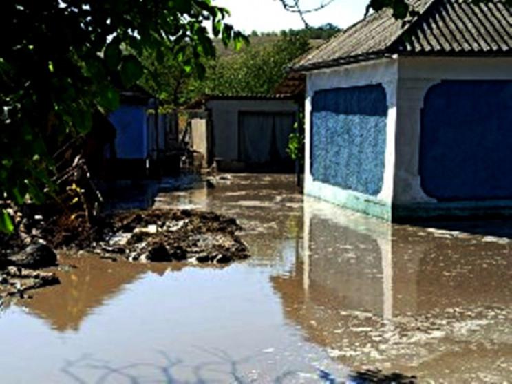 На Одещині через сильні зливи затопило ж…