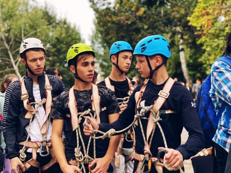 У Мукачеві змагаються спортсмени-туристи…