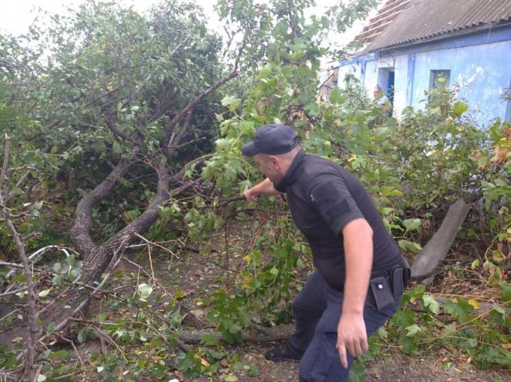 Ураган в Херсонской области: Ущерб дости…