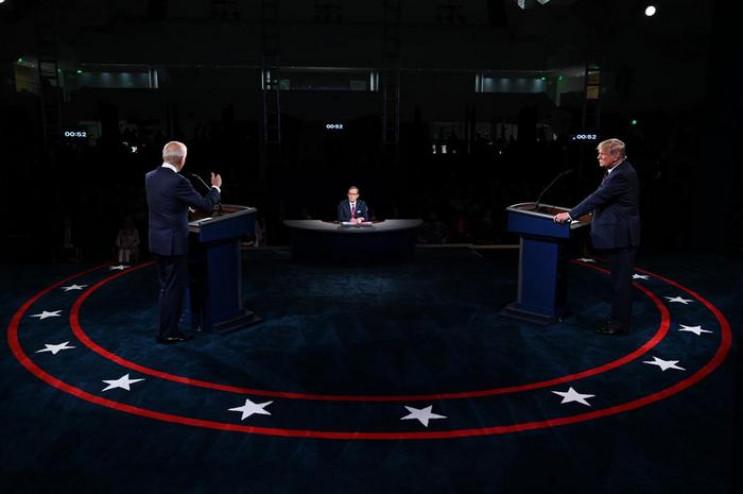 У США відбулися перші теледебати кандида…