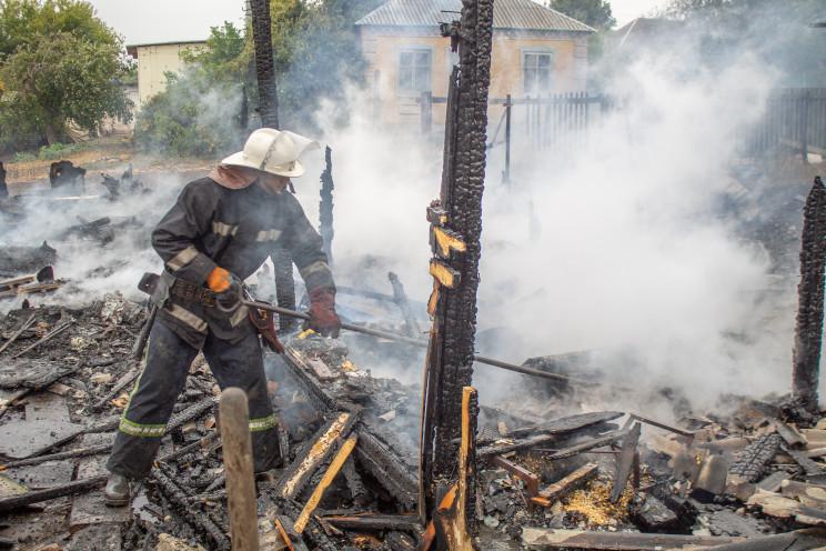На Харьковщине при пожаре погибли домашн…