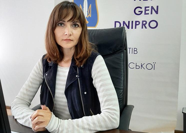 """У Дніпрі кандидатка в депутати від """"ЄС""""…"""
