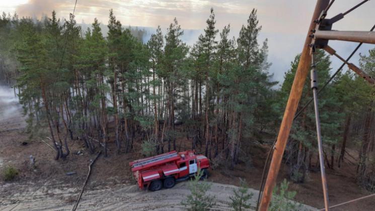 Пожежі на Луганщині: Погасили 8 із 10 ос…