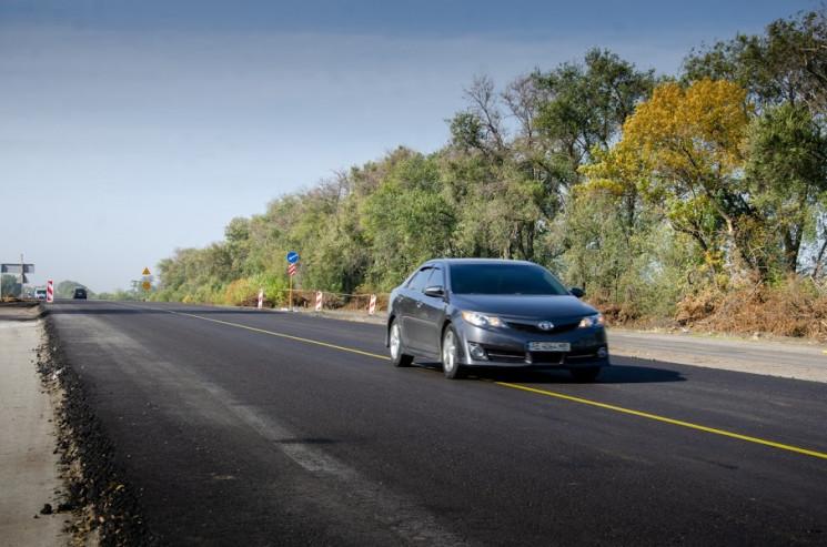 На Дніпропетровщині ремонтують трасу на…